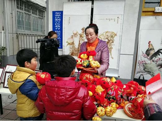 新春文化集市  营造节日氛围