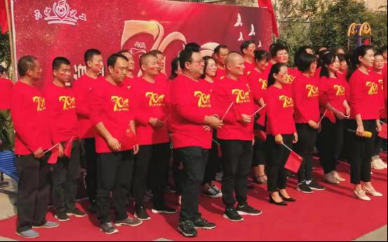 """天中义工联合会""""喜迎新中国70周年文艺汇演"""""""