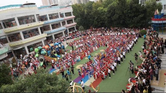 河南省省直一幼喜迎新中国成立70周年系列活动