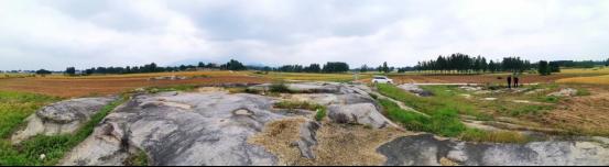 泌阳县象河乡境内惊现古凹穴岩画群
