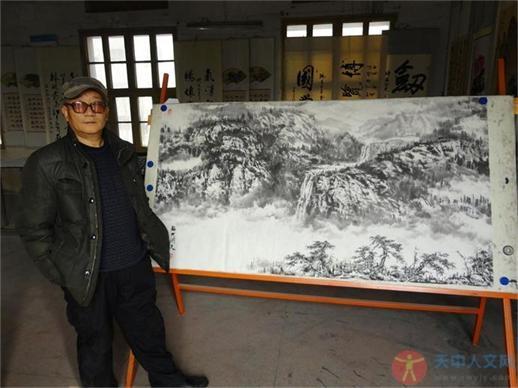 """赵明义老师谈""""中国山水画""""的创作"""