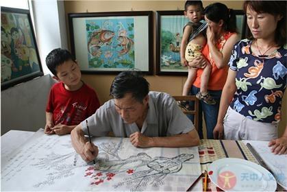 王桥农民画  ——汝南县省级非物质物化遗产项目