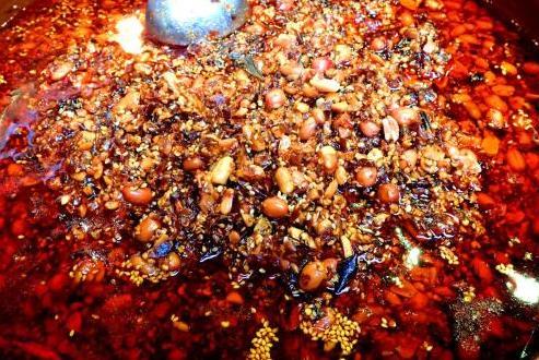 麻辣葱油酱、碎椒蒸酱、麻辣油、口香汁、冷炝汁、酱香味汁