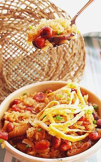 干贝花菇糯米饭