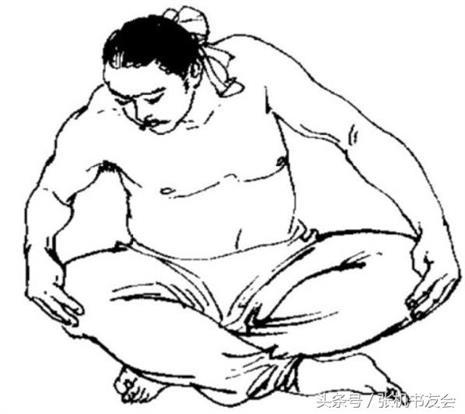 运动姿势人物像简笔画