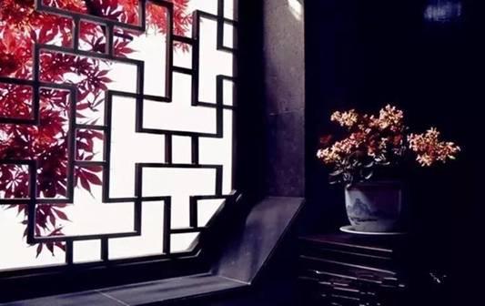 最美中国古窗格