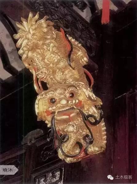 """中国古建筑之""""雀替"""""""