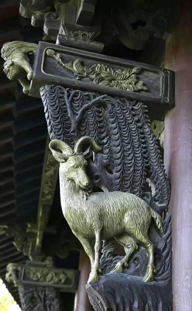 """雀替,栖居在古建檐梁上的""""云雀精灵"""""""